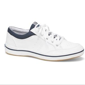 Keds Womens Rebel Leatherette Slip-On Shoe White